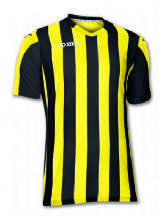 Copa Black/Yellow Short Sleeve Shirt